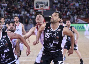 Amar Alibegovic Luca Garri Virtus Roma - Bertram Tortona Campionato Basket LNP 2018/2019 Roma 10/03/2019 Foto Gennaro Masi / Ciamillo-Castoria