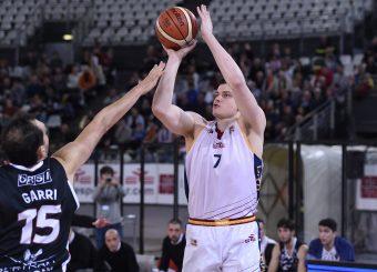 Amar Alibegovic Virtus Roma - Bertram Tortona Campionato Basket LNP 2018/2019 Roma 10/03/2019 Foto Gennaro Masi / Ciamillo-Castoria
