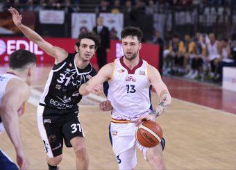 Tommaso Baldasso Virtus Roma - Bertram Tortona Campionato Basket LNP 2018/2019 Roma 10/03/2019 Foto Gennaro Masi / Ciamillo-Castoria