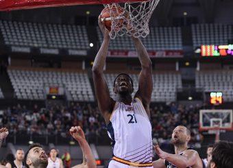 Henry Sims Virtus Roma - Bertram Tortona Campionato Basket LNP 2018/2019 Roma 10/03/2019 Foto Gennaro Masi / Ciamillo-Castoria