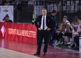 Piero Bucchi Virtus Roma - Bertram Tortona Campionato Basket LNP 2018/2019 Roma 10/03/2019 Foto Gennaro Masi / Ciamillo-Castoria
