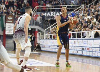 Daniele Sandri Zeus Energy Group Rieti - Virtus Roma Campionato Basket LNP 2018/2019 Rieti 17/03/2019 Foto Gennaro Masi / Ciamillo-Castoria
