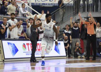Antino Jackson Zeus Energy Group Rieti - Virtus Roma Campionato Basket LNP 2018/2019 Rieti 17/03/2019 Foto Gennaro Masi / Ciamillo-Castoria