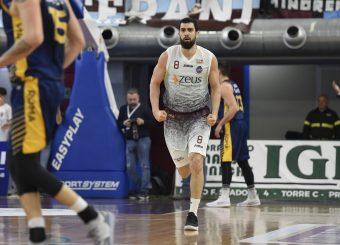 Edoardo Moretti Zeus Energy Group Rieti - Virtus Roma Campionato Basket LNP 2018/2019 Rieti 17/03/2019 Foto Gennaro Masi / Ciamillo-Castoria