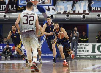 Massimo Chessa Zeus Energy Group Rieti - Virtus Roma Campionato Basket LNP 2018/2019 Rieti 17/03/2019 Foto Gennaro Masi / Ciamillo-Castoria