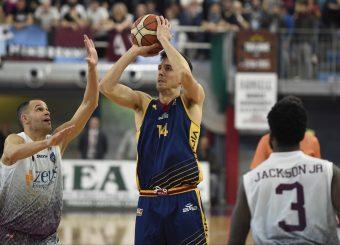 Andrea Saccaggi Zeus Energy Group Rieti - Virtus Roma Campionato Basket LNP 2018/2019 Rieti 17/03/2019 Foto Gennaro Masi / Ciamillo-Castoria
