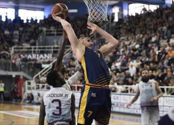 Amar Alibegovic Zeus Energy Group Rieti - Virtus Roma Campionato Basket LNP 2018/2019 Rieti 17/03/2019 Foto Gennaro Masi / Ciamillo-Castoria