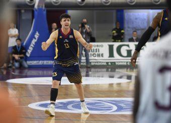 Tommaso Baldasso Zeus Energy Group Rieti - Virtus Roma Campionato Basket LNP 2018/2019 Rieti 17/03/2019 Foto Gennaro Masi / Ciamillo-Castoria