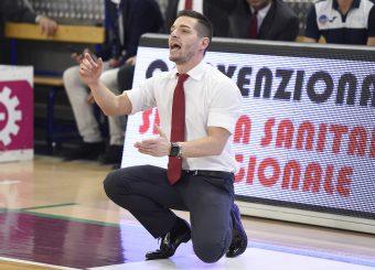 Alessandro Rossi Zeus Energy Group Rieti - Virtus Roma Campionato Basket LNP 2018/2019 Rieti 17/03/2019 Foto Gennaro Masi / Ciamillo-Castoria