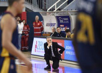 Piero Bucchi Zeus Energy Group Rieti - Virtus Roma Campionato Basket LNP 2018/2019 Rieti 17/03/2019 Foto Gennaro Masi / Ciamillo-Castoria