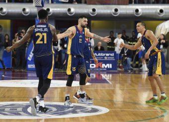 Aristide Landi Zeus Energy Group Rieti - Virtus Roma Campionato Basket LNP 2018/2019 Rieti 17/03/2019 Foto Gennaro Masi / Ciamillo-Castoria