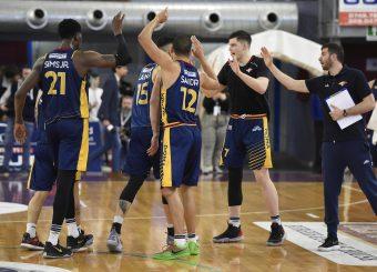 Virtus Roma Zeus Energy Group Rieti - Virtus Roma Campionato Basket LNP 2018/2019 Rieti 17/03/2019 Foto Gennaro Masi / Ciamillo-Castoria