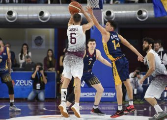 Juan Marcos Casini Zeus Energy Group Rieti - Virtus Roma Campionato Basket LNP 2018/2019 Rieti 17/03/2019 Foto Gennaro Masi / Ciamillo-Castoria