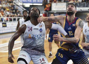 Bobby Jones Aristide Landi Zeus Energy Group Rieti - Virtus Roma Campionato Basket LNP 2018/2019 Rieti 17/03/2019 Foto Gennaro Masi / Ciamillo-Castoria