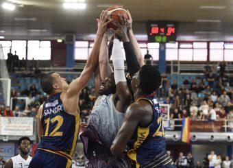Daniele Sandri Bobby Jones Zeus Energy Group Rieti - Virtus Roma Campionato Basket LNP 2018/2019 Rieti 17/03/2019 Foto Gennaro Masi / Ciamillo-Castoria