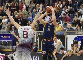 Marco Santiangeli Zeus Energy Group Rieti - Virtus Roma Campionato Basket LNP 2018/2019 Rieti 17/03/2019 Foto Gennaro Masi / Ciamillo-Castoria