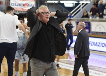 Giuseppe Cattani Zeus Energy Group Rieti - Virtus Roma Campionato Basket LNP 2018/2019 Rieti 17/03/2019 Foto Gennaro Masi / Ciamillo-Castoria