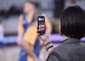 Naomi Longobardi Virtus Roma - M Rinnovabili Agrigento Campionato Basket LNP 2018/2019 Roma 31/03/2019 Foto Gennaro Masi / Ciamillo-Castoria