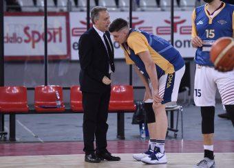 Piero Bucchi Amar Alibegovic Virtus Roma - M Rinnovabili Agrigento Campionato Basket LNP 2018/2019 Roma 31/03/2019 Foto Gennaro Masi / Ciamillo-Castoria