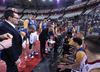 Piero Bucchi Virtus Roma - M Rinnovabili Agrigento Campionato Basket LNP 2018/2019 Roma 31/03/2019 Foto Gennaro Masi / Ciamillo-Castoria
