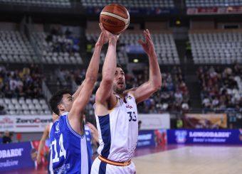 Marco Santiangeli Virtus Roma - M Rinnovabili Agrigento Campionato Basket LNP 2018/2019 Roma 31/03/2019 Foto Gennaro Masi / Ciamillo-Castoria