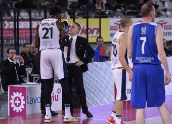 Henry Sims Piero Bucchi Virtus Roma - M Rinnovabili Agrigento Campionato Basket LNP 2018/2019 Roma 31/03/2019 Foto Gennaro Masi / Ciamillo-Castoria
