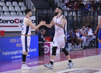Tommaso Baldasso Aristide Landi Virtus Roma - M Rinnovabili Agrigento Campionato Basket LNP 2018/2019 Roma 31/03/2019 Foto Gennaro Masi / Ciamillo-Castoria