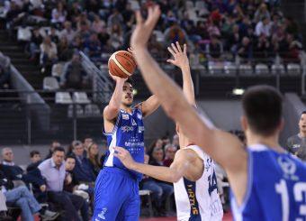 Lorenzo Ambrosin Virtus Roma - M Rinnovabili Agrigento Campionato Basket LNP 2018/2019 Roma 31/03/2019 Foto Gennaro Masi / Ciamillo-Castoria