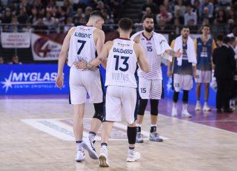 Amar Alibegovic Tommaso Baldasso Virtus Roma - M Rinnovabili Agrigento Campionato Basket LNP 2018/2019 Roma 31/03/2019 Foto Gennaro Masi / Ciamillo-Castoria