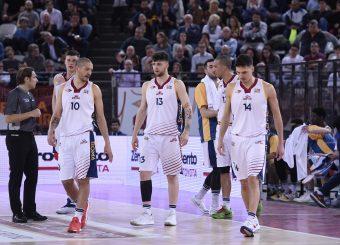 Massimo Chessa Tommaso Baldasso Virtus Roma - M Rinnovabili Agrigento Campionato Basket LNP 2018/2019 Roma 31/03/2019 Foto Gennaro Masi / Ciamillo-Castoria