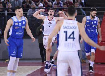 Amar Alibegovic Virtus Roma - M Rinnovabili Agrigento Campionato Basket LNP 2018/2019 Roma 31/03/2019 Foto Gennaro Masi / Ciamillo-Castoria