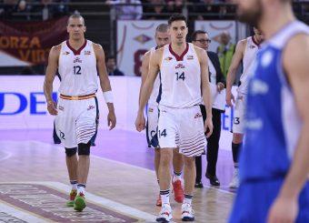 Daniele Sandri Andrea Saccaggi Virtus Roma - M Rinnovabili Agrigento Campionato Basket LNP 2018/2019 Roma 31/03/2019 Foto Gennaro Masi / Ciamillo-Castoria