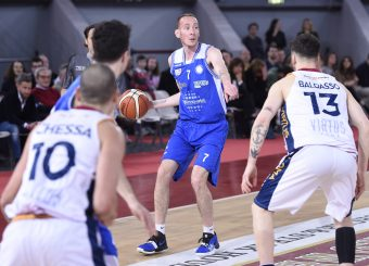 Marco Evangelisti Virtus Roma - M Rinnovabili Agrigento Campionato Basket LNP 2018/2019 Roma 31/03/2019 Foto Gennaro Masi / Ciamillo-Castoria