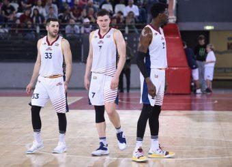 Marco Santiangeli Amar Alibegovic Virtus Roma - M Rinnovabili Agrigento Campionato Basket LNP 2018/2019 Roma 31/03/2019 Foto Gennaro Masi / Ciamillo-Castoria