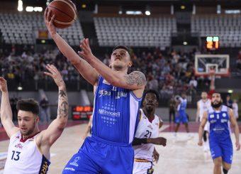 Dimitri Sousa Virtus Roma - M Rinnovabili Agrigento Campionato Basket LNP 2018/2019 Roma 31/03/2019 Foto Gennaro Masi / Ciamillo-Castoria