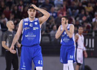 Edoardo Fontana Virtus Roma - M Rinnovabili Agrigento Campionato Basket LNP 2018/2019 Roma 31/03/2019 Foto Gennaro Masi / Ciamillo-Castoria