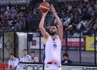 Aristide Landi Virtus Roma - M Rinnovabili Agrigento Campionato Basket LNP 2018/2019 Roma 31/03/2019 Foto Gennaro Masi / Ciamillo-Castoria