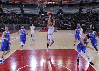 Tommaso Baldasso Virtus Roma - M Rinnovabili Agrigento Campionato Basket LNP 2018/2019 Roma 31/03/2019 Foto Gennaro Masi / Ciamillo-Castoria