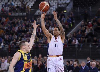 Nic Moore Virtus Roma - Givova Scafati Campionato Basket LNP 2018/2019 Roma 14/04/2019 Foto Gennaro Masi / Ciamillo-Castoria
