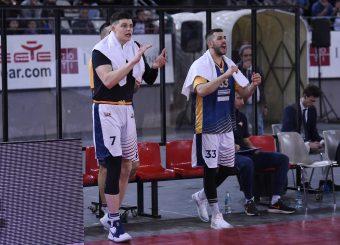 Amar Alibegovic Marco Santiangeli Virtus Roma - Givova Scafati Campionato Basket LNP 2018/2019 Roma 14/04/2019 Foto Gennaro Masi / Ciamillo-Castoria