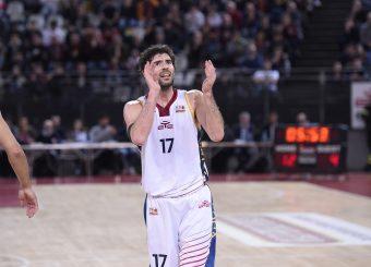 Roberto Prandin Virtus Roma - Givova Scafati Campionato Basket LNP 2018/2019 Roma 14/04/2019 Foto Gennaro Masi / Ciamillo-Castoria