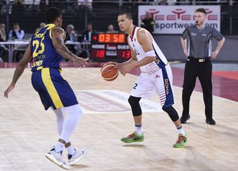 Daniele Sandri Virtus Roma - Givova Scafati Campionato Basket LNP 2018/2019 Roma 14/04/2019 Foto Gennaro Masi / Ciamillo-Castoria