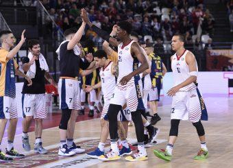 Virtus Roma Virtus Roma - Givova Scafati Campionato Basket LNP 2018/2019 Roma 14/04/2019 Foto Gennaro Masi / Ciamillo-Castoria