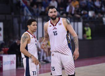 Nic Moore Aristide Landi Virtus Roma - Givova Scafati Campionato Basket LNP 2018/2019 Roma 14/04/2019 Foto Gennaro Masi / Ciamillo-Castoria