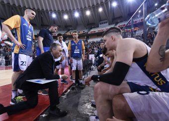Piero Bucchi Virtus Roma - Givova Scafati Campionato Basket LNP 2018/2019 Roma 14/04/2019 Foto Gennaro Masi / Ciamillo-Castoria