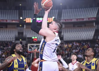 Amar Alibegovic Virtus Roma - Givova Scafati Campionato Basket LNP 2018/2019 Roma 14/04/2019 Foto Gennaro Masi / Ciamillo-Castoria
