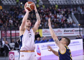 Tommaso Baldasso Virtus Roma - Givova Scafati Campionato Basket LNP 2018/2019 Roma 14/04/2019 Foto Gennaro Masi / Ciamillo-Castoria