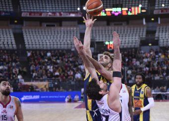 Riccardo Rossato Virtus Roma - Givova Scafati Campionato Basket LNP 2018/2019 Roma 14/04/2019 Foto Gennaro Masi / Ciamillo-Castoria