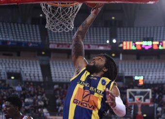 Shaquille Goodwin Virtus Roma - Givova Scafati Campionato Basket LNP 2018/2019 Roma 14/04/2019 Foto Gennaro Masi / Ciamillo-Castoria