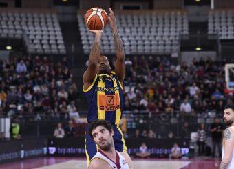 Aaron Thomas Virtus Roma - Givova Scafati Campionato Basket LNP 2018/2019 Roma 14/04/2019 Foto Gennaro Masi / Ciamillo-Castoria